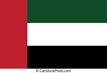 Bandera de emiratos arabes unidos