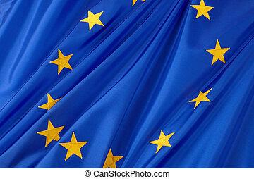 bandera de la unión, europeo
