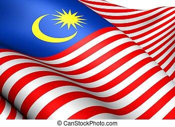Bandera de malaysia