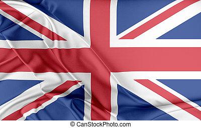 Bandera del Reino Unido.