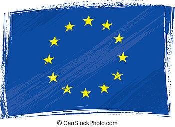 Bandera del sindicato europeo