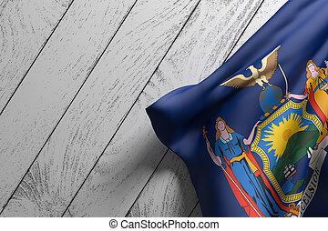 Bandera estatal de Nueva York
