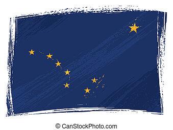 bandera, grunge, alaska