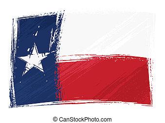 bandera, grunge, tejas