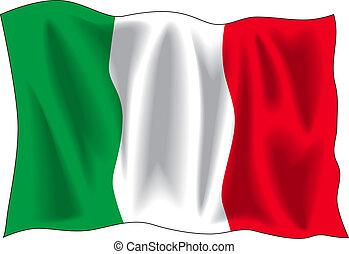 bandera, italiano