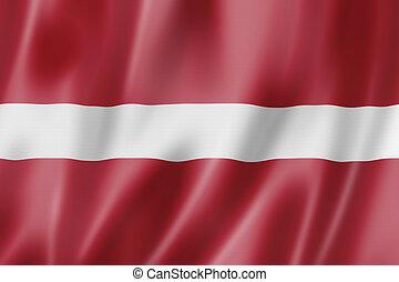 Bandera letona