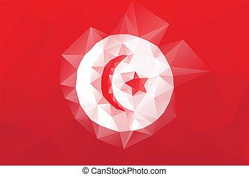 bandera, tunecino