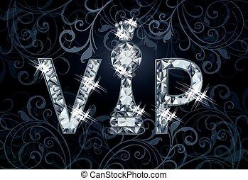 bandera, vip, diamante, ajedrez, vector
