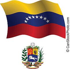 Bandera y abrigo de Venezuela