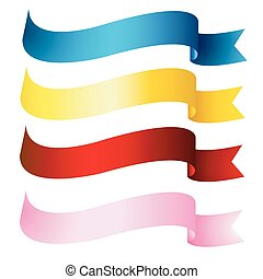 banderas, cintas