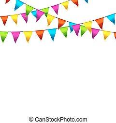 Banderas coloridas