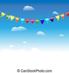 Banderas de cumpleaños