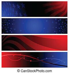 banderas, patriótico