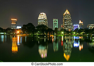 bangkok, parque
