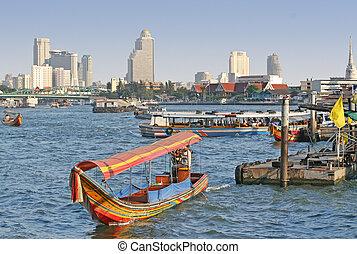 bangkok, río