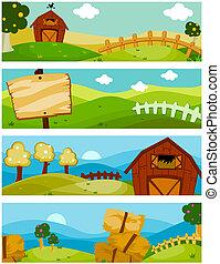 Banners de granja