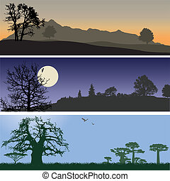 Banners de Landscape