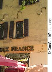 Bar francés