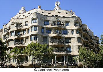 barcelona, arquitectura