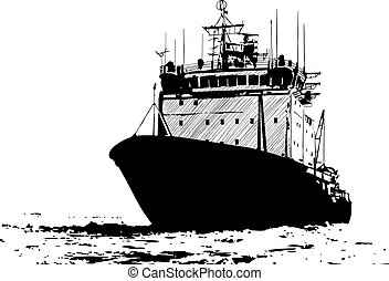 barco, bosquejo