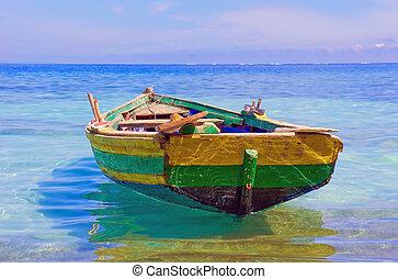 Barco de pesca haitiano