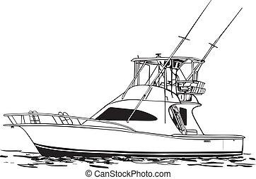 Barco deportivo