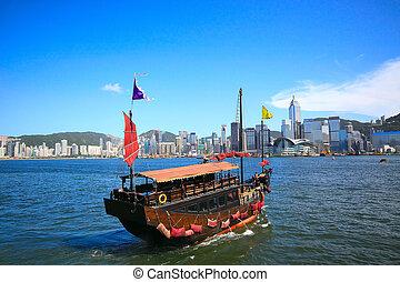 Barco en Asia, Hong Kong