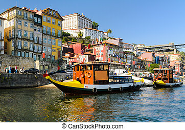 barcos, porto, portugal