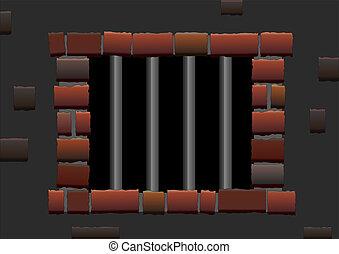 barras, cárcel