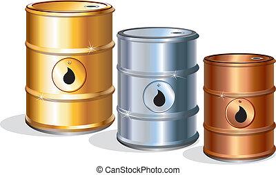 Barriles de aceite