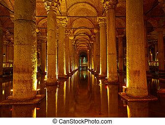 basílica, cisterna