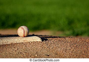 Baseball en el montículo