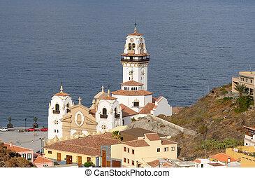 Basilica de Candelaria. Canary Island tenife, España