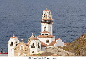 Basilica de nuestra senora de la candelaria. Canary Island tenife, España