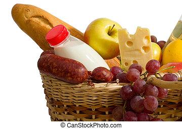 Basket con comida