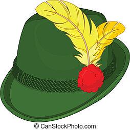 baviera, sombrero