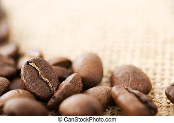 beans., café, foco selectivo