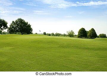 Beautigul Golf campos de deportes verdes