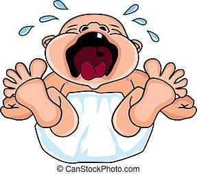 Bebé llorón