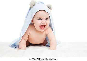 Bebé reído