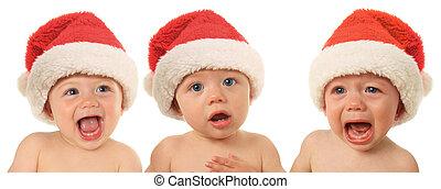 Bebés de Santa Navidad