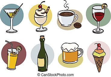 bebida, conjunto