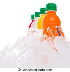 Bebidas de jugo de fruta embotellada