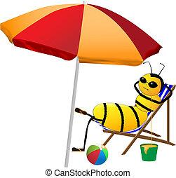 Bee de vacaciones