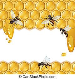 Bees y panal