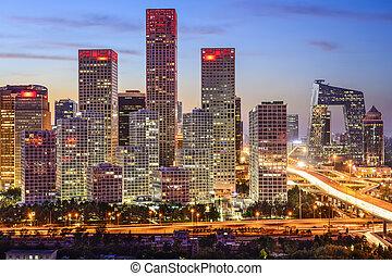 beijing, distrito financiero