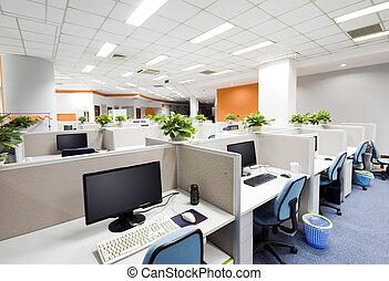beijing, lugar de trabajo, oficina