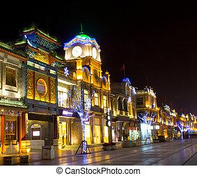 beijing, noche