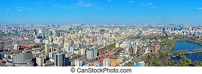 beijing, vista aérea