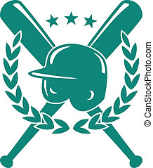 beisball, campeonato, emblema